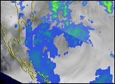 Tropical Storm brings Heavy Rains to Burma