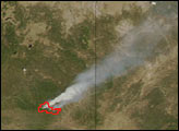 KP Fire in Apache-Sitgreaves National Forest