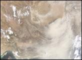 Southwest Asia Dust Storm