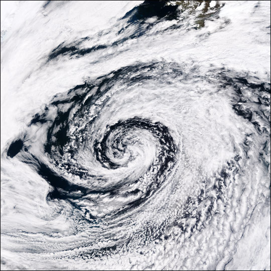 Low Pressure System off Iceland