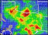 Persistant Storms Soak North Texas