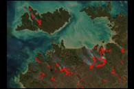 Early Dry Season Fires in Northern Australia