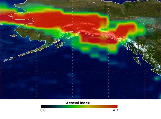 Fires In Alaska and Northern Canada - related image preview