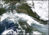 Fires In Alaska and Northern Canada