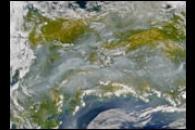 Smoke from Alaska Fires