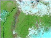 Flooding in Siberia