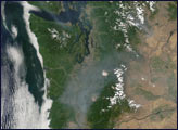 Smoke in the Pacific Northwest