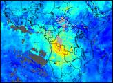 Carbon Monoxide from Tropical Fires