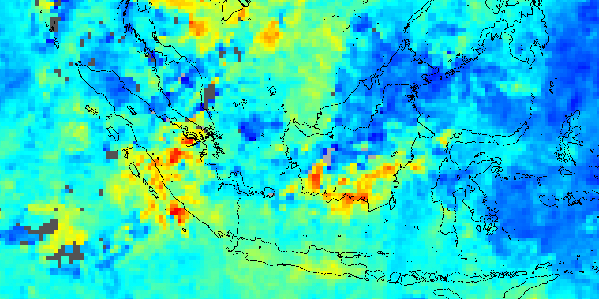 Carbon Monoxide over Indonesia - related image preview