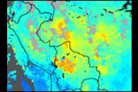 Carbon Monoxide over South America