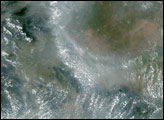 Particle Pollution in Eastern China