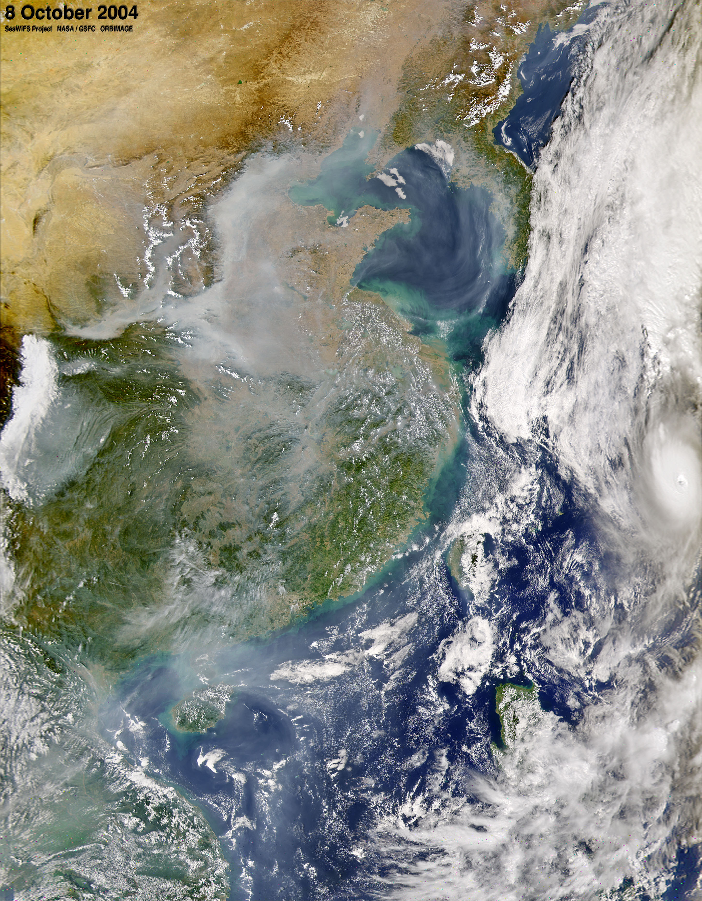 Particle Pollution in Eastern China - related image preview