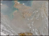 Particle Pollution in Eastern China - selected image