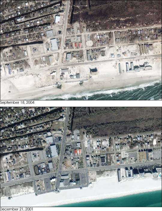 Gulf Coast after Hurricane Ivan