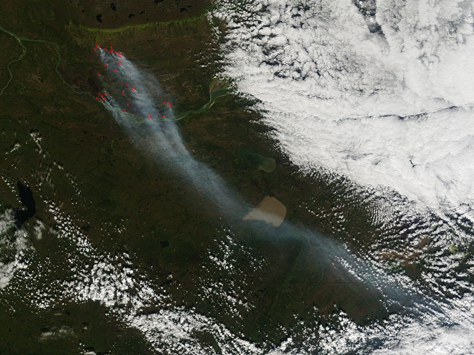 Fires in northern Canada - related image preview