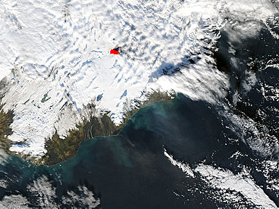 Eruption at Bardarbunga, Iceland (true color) - related image preview