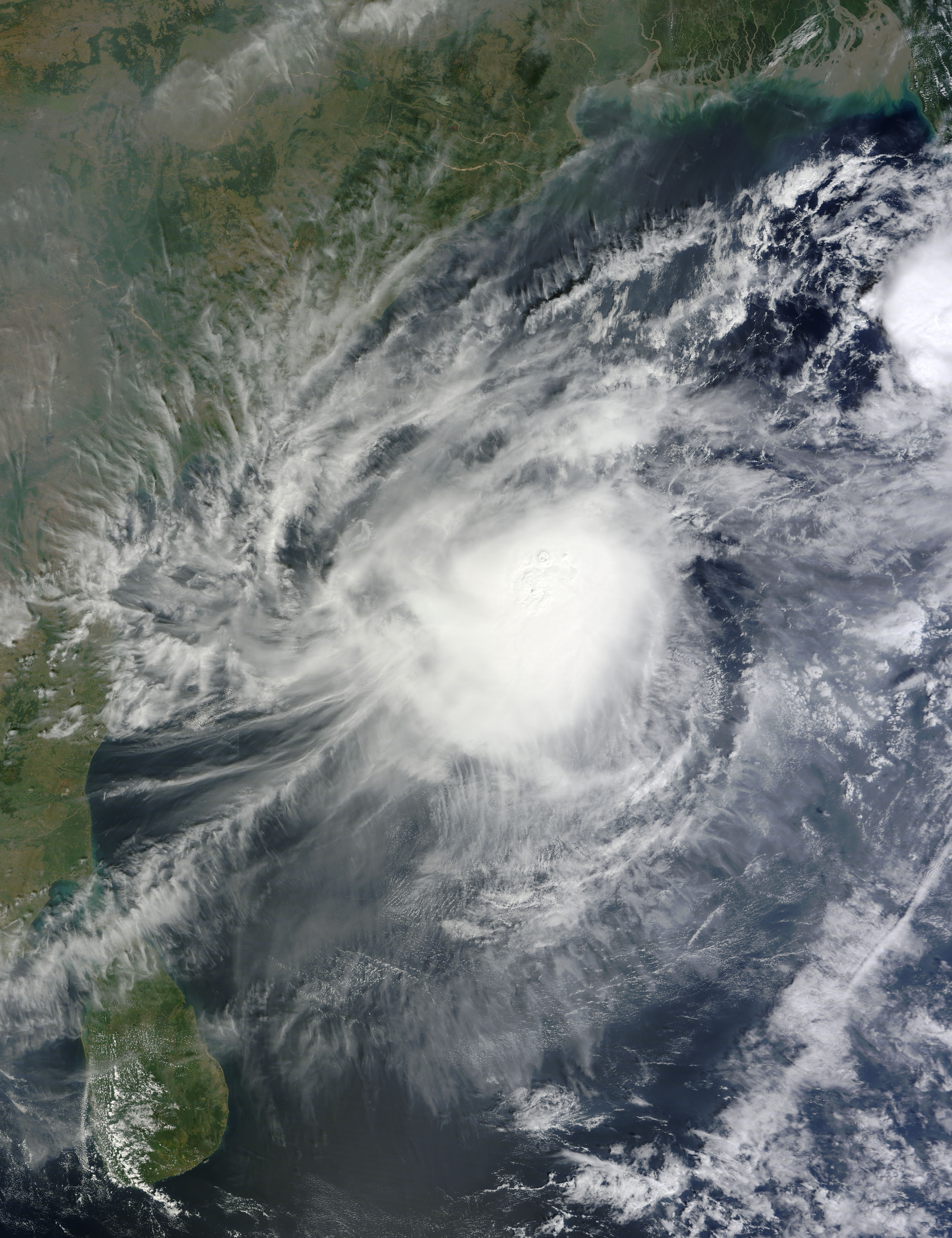 Tropical Cyclone Five (05B) in the Bay of Bengal - related image preview