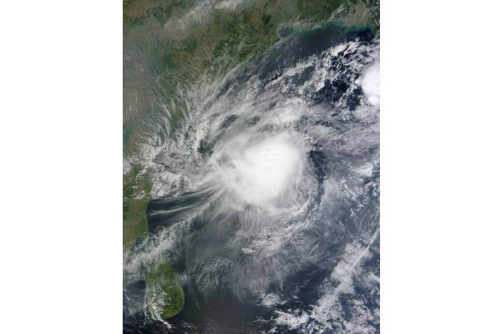 Tropical Cyclone Five (05B) in the Bay of Bengal - selected image