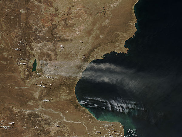 Dust storm in Argentina - related image preview