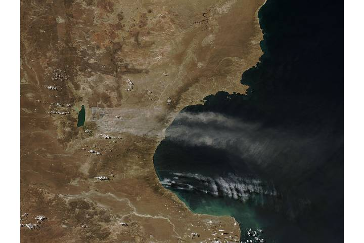Dust storm in Argentina - selected image