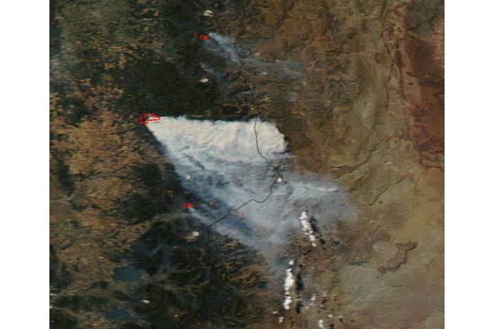 Fires in Chile - selected image