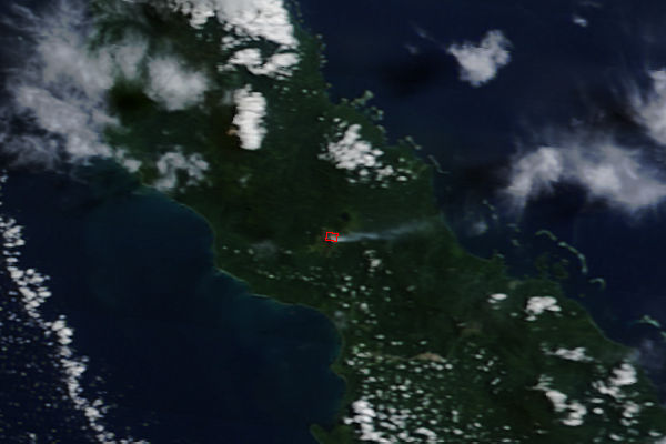 Activity at Bagana, Bougainville Island - related image preview