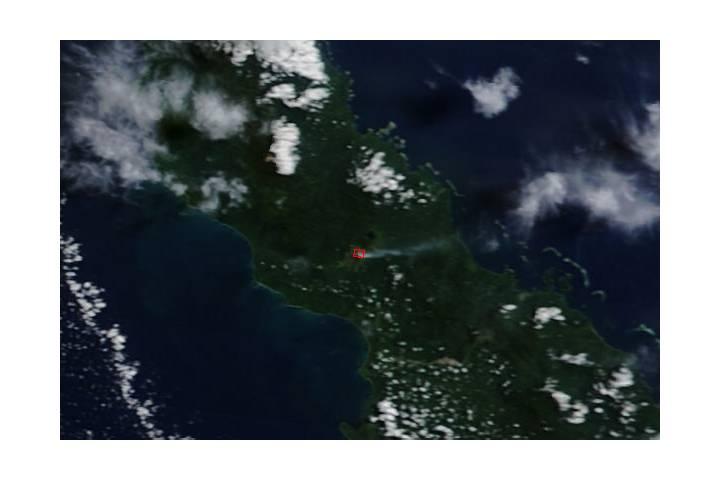 Activity at Bagana, Bougainville Island - selected image