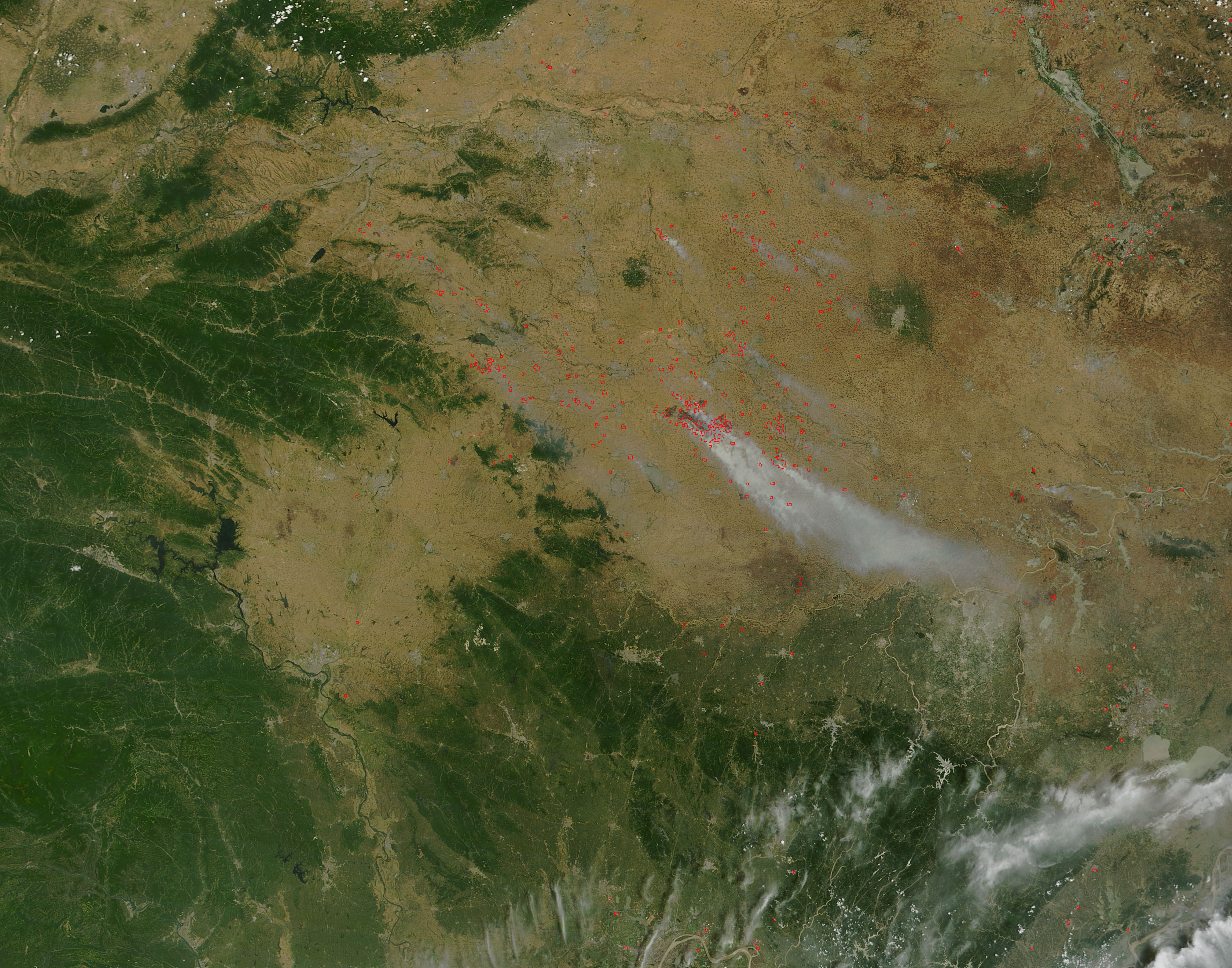 Fires in eastern China - related image preview