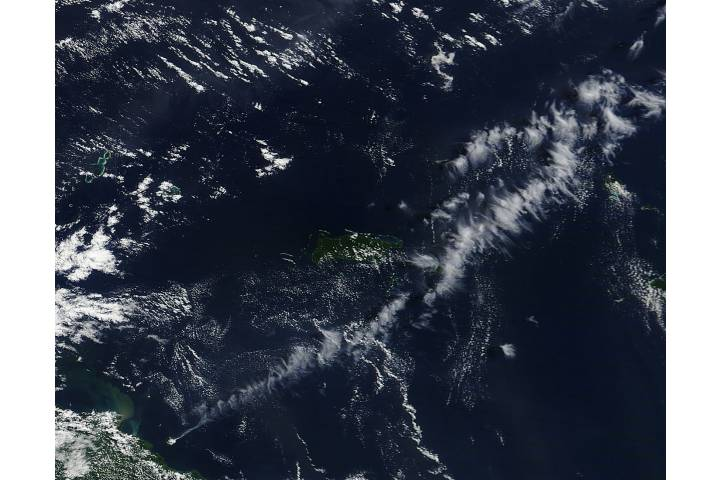 Plume from Manam, Papua New Guinea - selected image