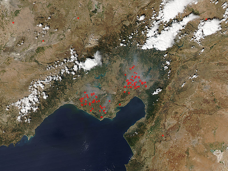 Fires in south central Turkey - related image preview