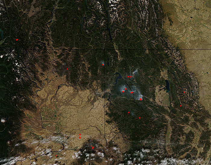 Fires in Idaho, Montana, and Washington - related image preview