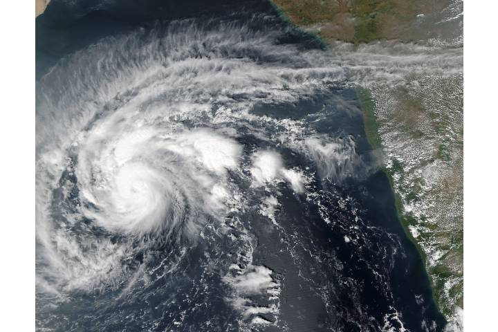 Tropical Cyclone Four (04A) in the Arabian Sea - selected image