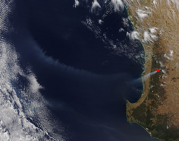 Smoke off Western Australia - related image preview