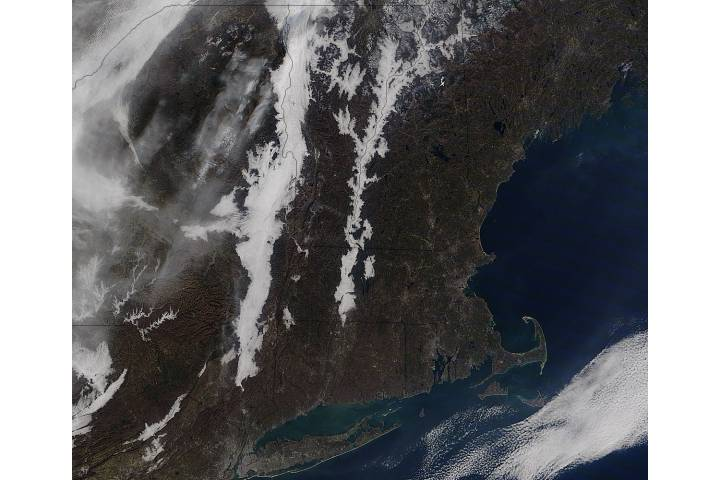 Low clouds in the Connecticut and Hudson River Valleys - selected image