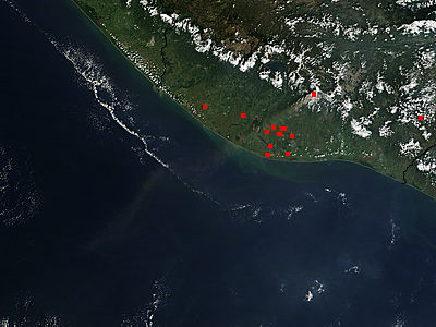 Eruption of Fuego Volcano, Guatemala - related image preview