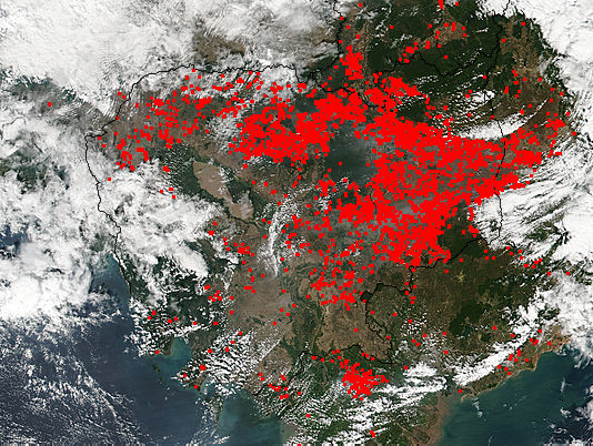 Fires in Cambodia - related image preview