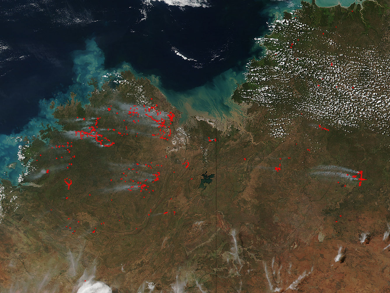 Fires in northwestern Australia - related image preview