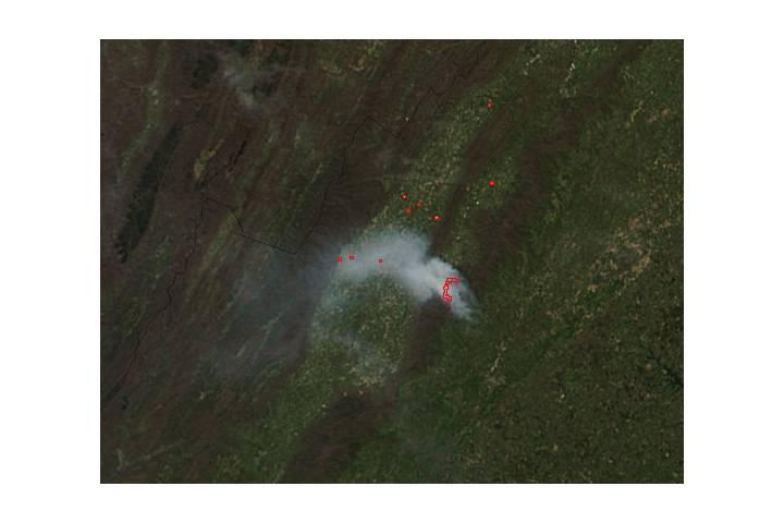 Rocky Mountain Fire, Virginia - selected image