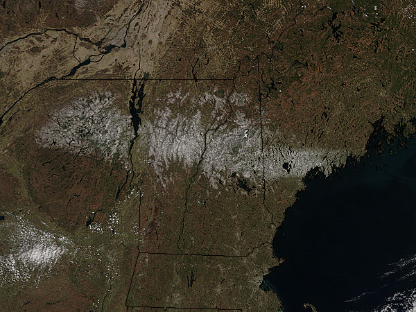 Spring snow across northern New England - related image preview