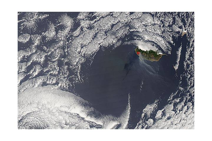 Fires on Madeira - selected image