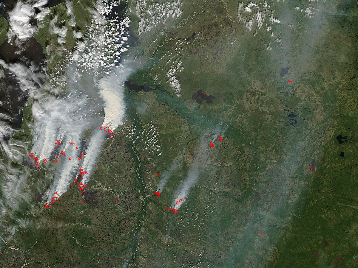 Fires in central Russia - related image preview