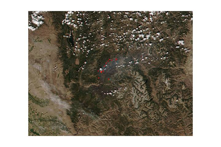 Pioneer Fire in southern Idaho - selected image
