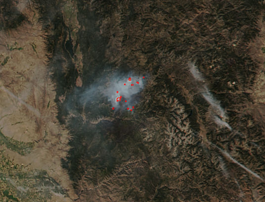 Pioneer Fire in southern Idaho - related image preview