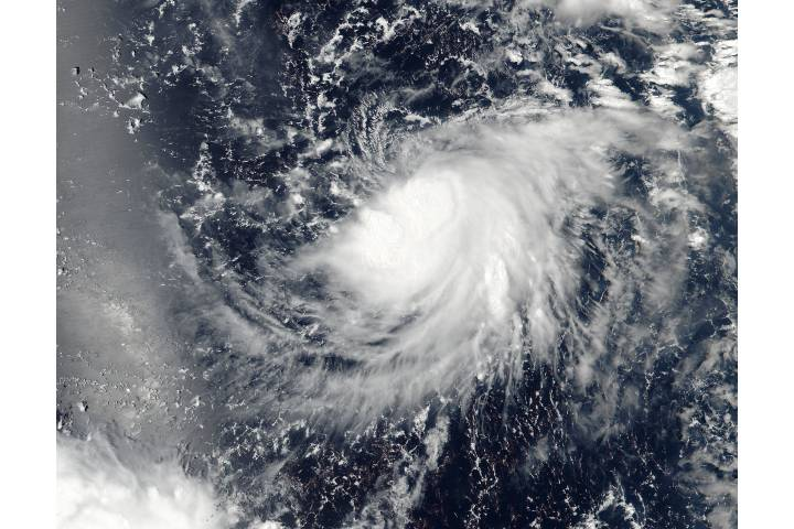 Tropical Storm Meranti (16W) in the western Pacific - selected image