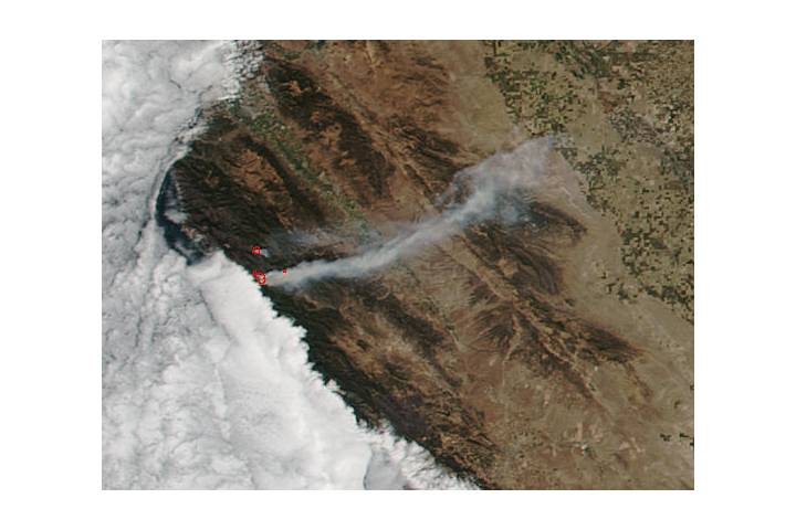 Soberanes Fire, California - selected image
