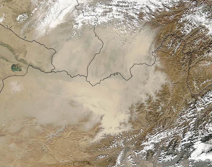 Dust storm in Afghanistan - related image preview