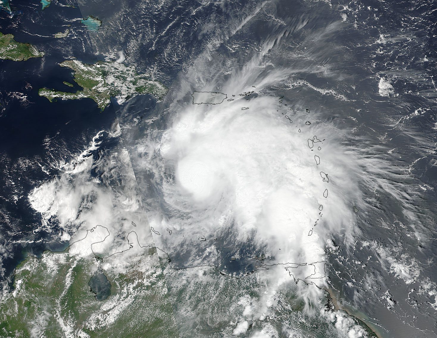 Tropical Storm Matthew (14L) in the Caribbean Sea - related image preview