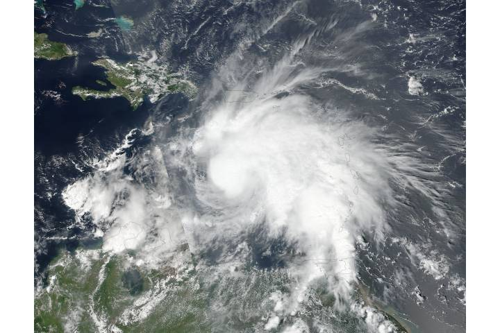 Tropical Storm Matthew (14L) in the Caribbean Sea - selected image