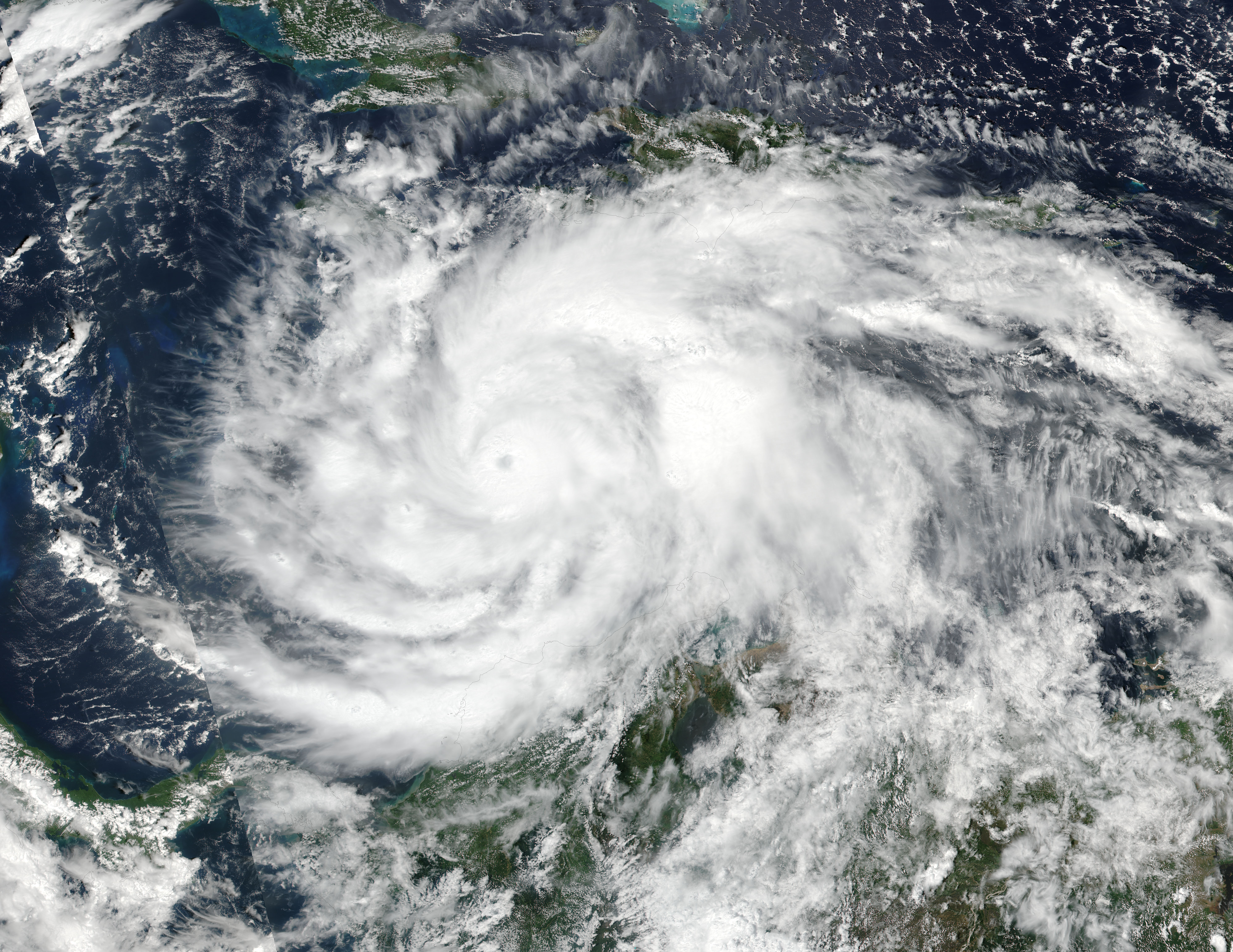 Hurricane Matthew (14L) in the Caribbean Sea - related image preview