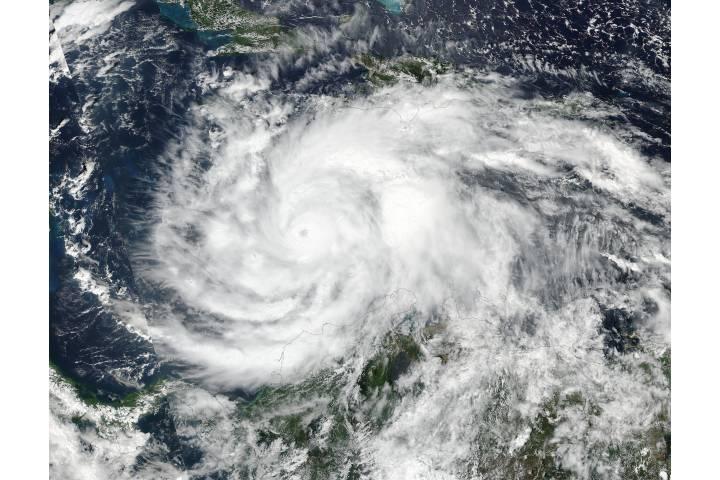 Hurricane Matthew (14L) in the Caribbean Sea - selected image